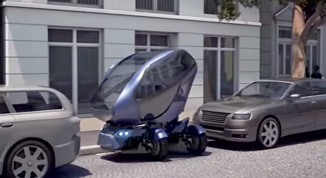 EO smart connecting car parkera