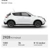 Leasa bil Nissan Juke exempel