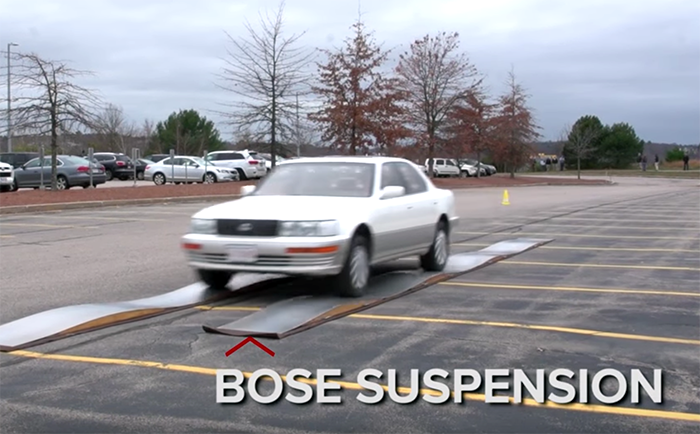 Bose suspension