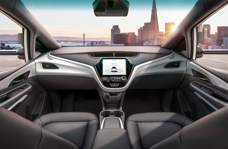General Motors GM Cruise AV Chevy Bolt