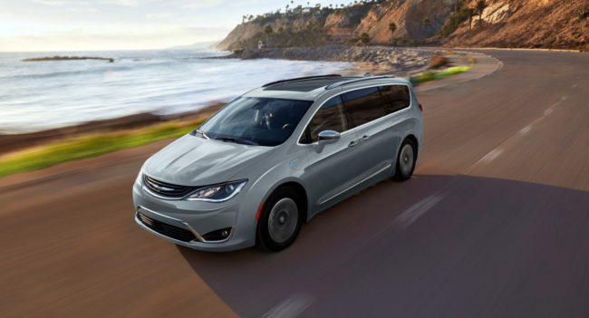 2018 Chrysler Pacifica - Foto: Chrysler.com